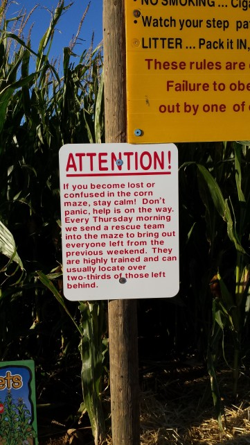 Time to Get Away - Wilcox AZ - Apple Annies Corn Maze Rescue