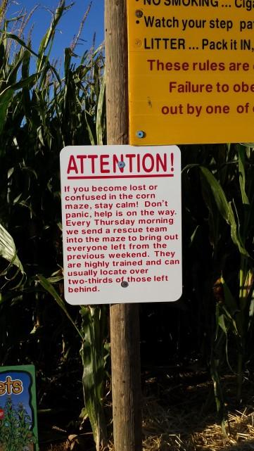 Time to Get Away - Wilcox AZ - Apple Annies Corn Maze Rescue