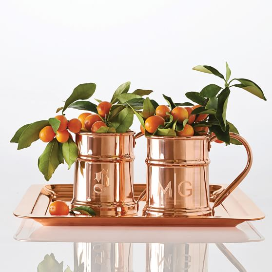 Design Finds- Holiday Hostess Gifts under $50 - Copper Mug