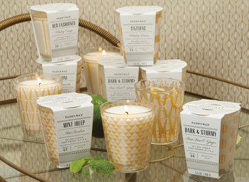 Design Finds- Holiday Hostess Gifts under $50 - Paddywax Mixology Collection Candles