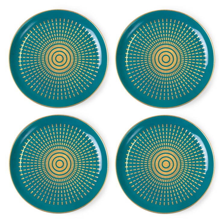 Design Finds- Holiday Hostess Gifts under $50 - Santorini Coasters
