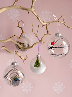 Finds Holiday DIY Roundup - DIY Glass Ornament