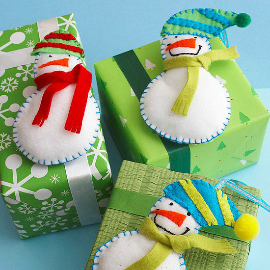 FINDS Holiday DIY Roundup - Fun Felt Snowman
