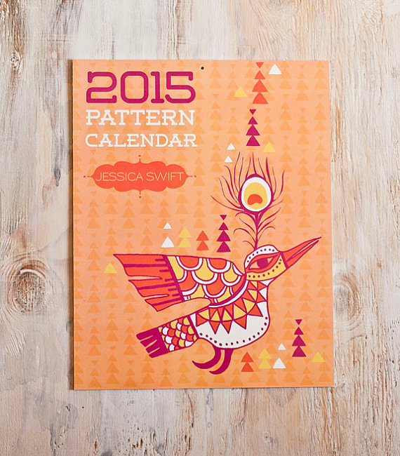 Jessica Swift 2015 Pattern Calendar - FINDS CREATIVE GIFT GUIDE 2014