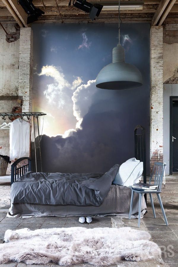 Drama and light add to Romance - FINDS - Non-Traditional Romantic Bedrooms