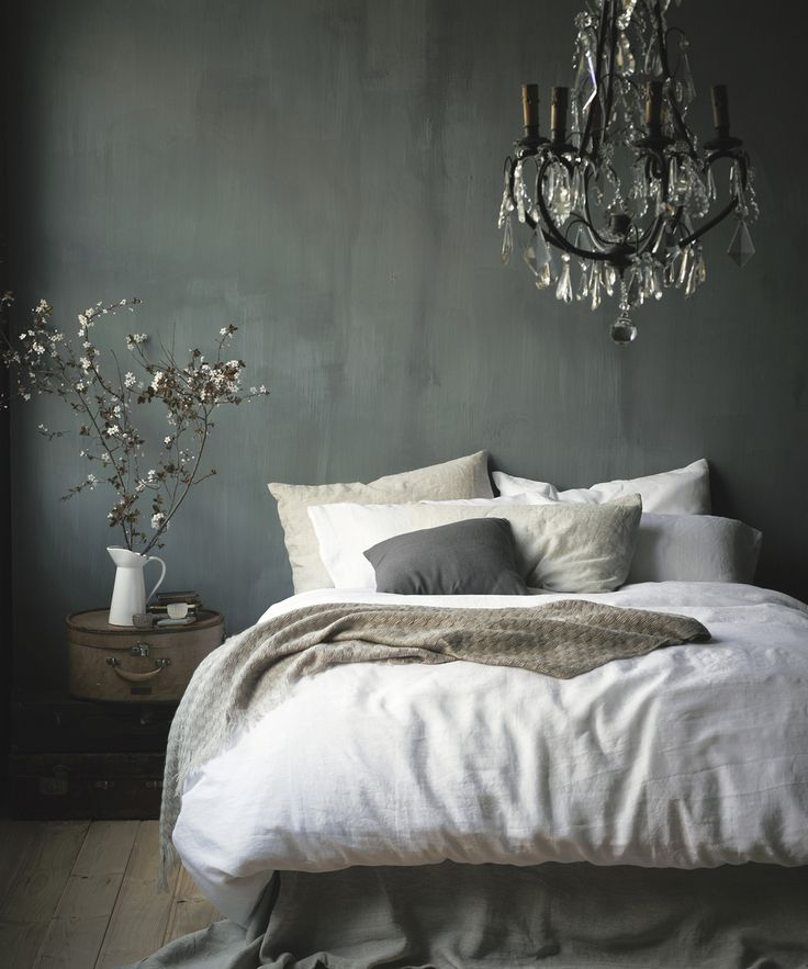 Dramatic Romance - FINDS - Non-Traditional Romantic Bedrooms