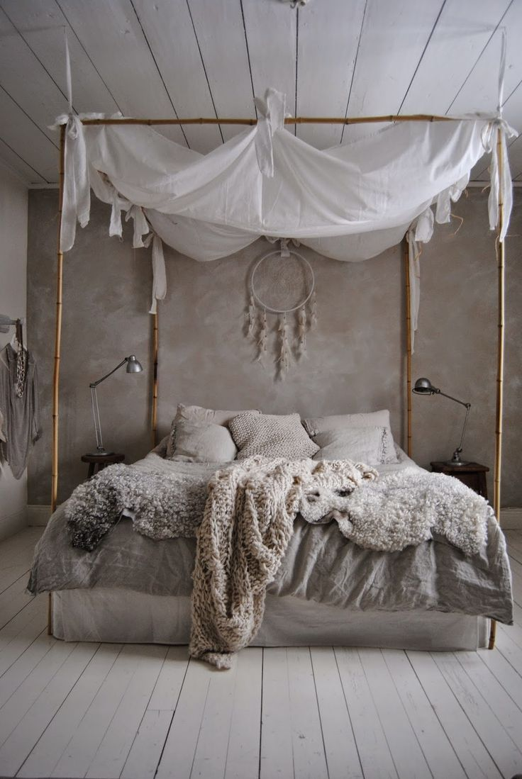 Monochromatic Romance - FINDS - Non-Traditional Romantic Bedrooms