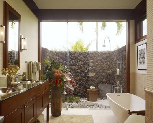 Tropical Bathroom Inspiration - 2 - FINDS Blog