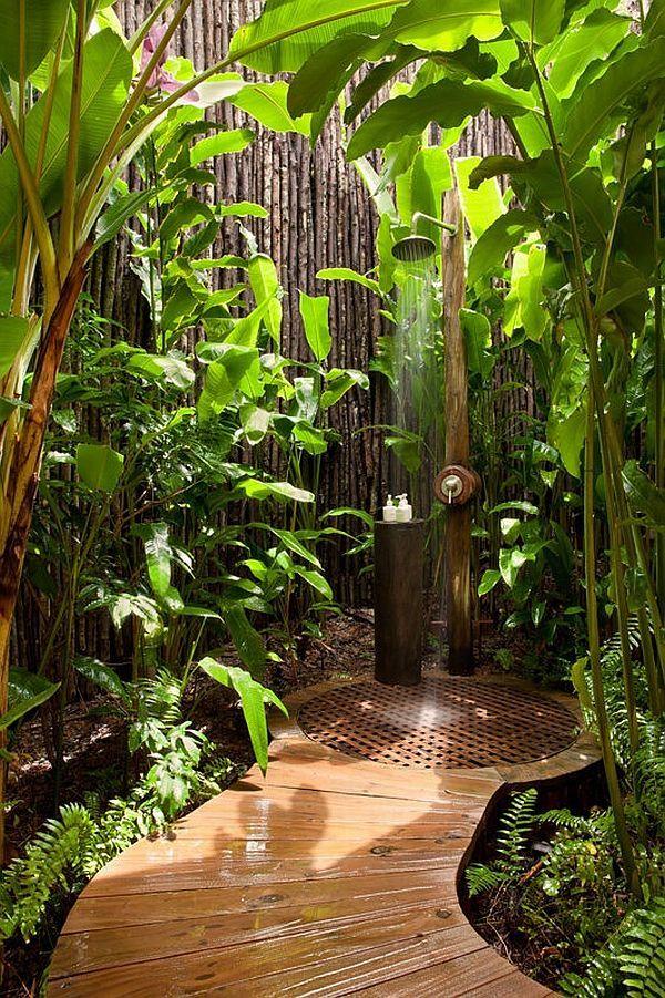 Tropical Bathroom Inspiration - 6 - FINDS Blog