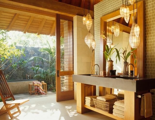 Tropical Bathroom Inspiration