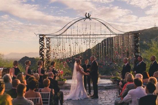 Custom Wedding Arch by Hoot & Holler