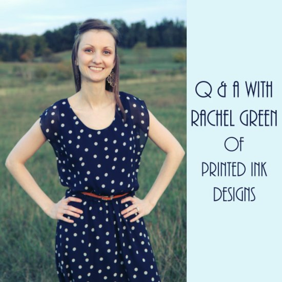 Q & A with Rachel Green of Printed Ink Designs