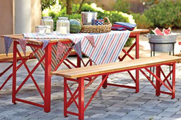 Add A Beer Garden Style Table   Make