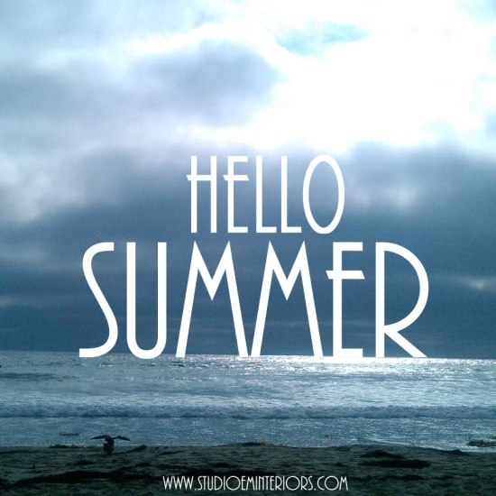 Hello Summer - June Monthly Mood - FINDS Blog