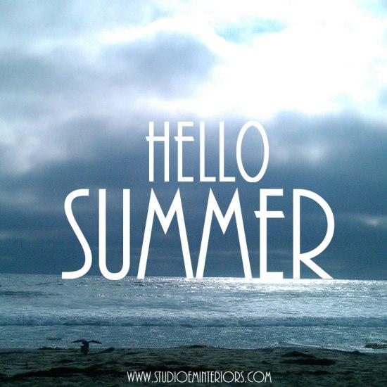 Hello Summer - June Monthly Mood - FINDS Blog