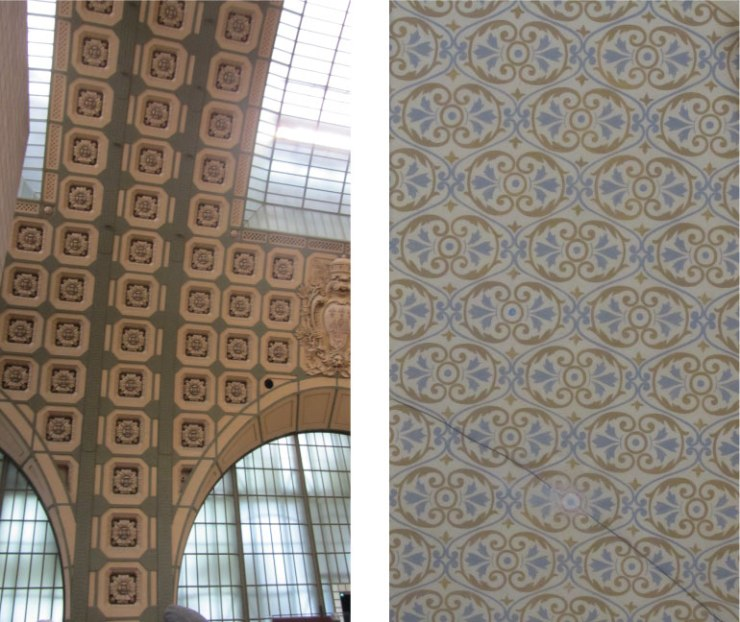 Ceiling Patterns in Paris