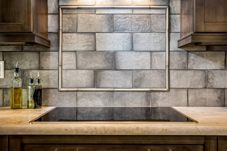 Lakeside Rebuild - Kitchen Backsplash Detail - Studio Em Interiors