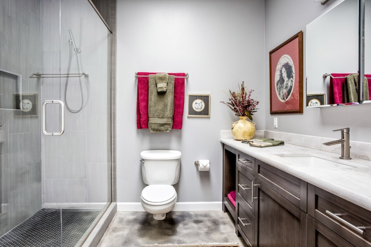 Lakeside Rebuild - Hall Bathroom - Studio Em Interiors