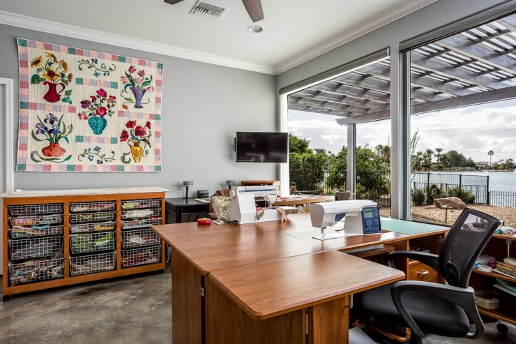 Lakeside Rebuild - Sewing/Quilting Room - Studio Em Interiors
