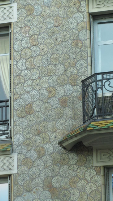 Pattern in Architecture - Paris Streets
