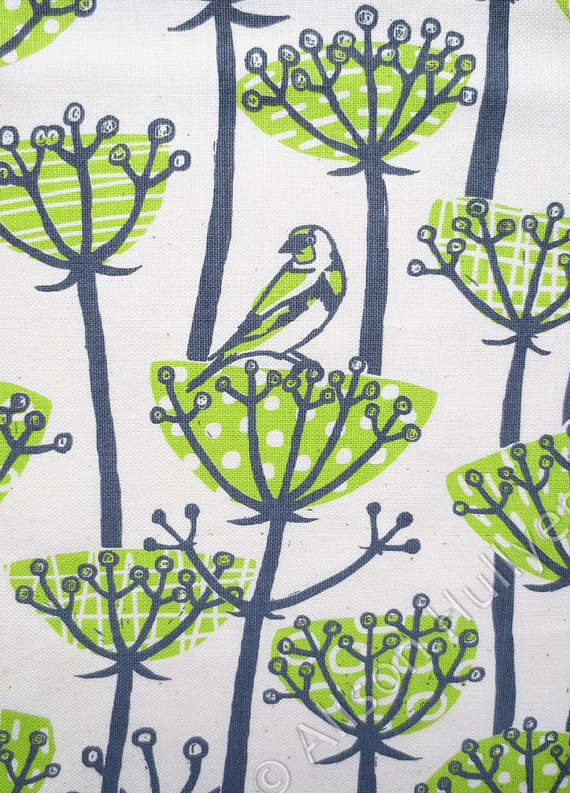 Goldfinch Tea Towel - Alison Hullyer - Etsy