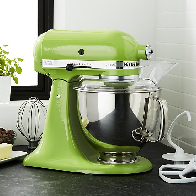 kitchenaid-artisan-green-apple-stand-mixer